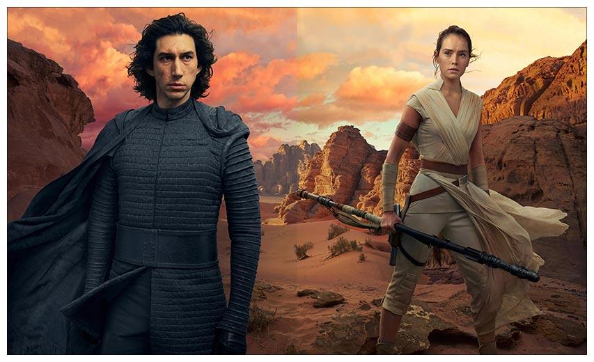 Неформатный постер Star Wars / Звездные войны